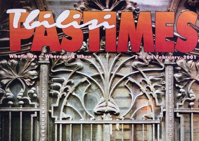 2001 – Magazine TBILISI PASTIMES. 2-11 February