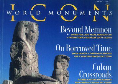 2004 – Romey K. Bourgeois Dreams, Georgia's Forgotten Art Nouveau Legacy. Magazine ICON. USA