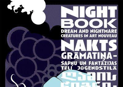 2006 – Night Book. Réseau Art Nouveau Network. Brussels, Belgium