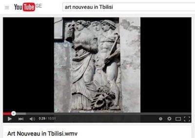 2010 – Art Nouveau in Tbilisi (video)